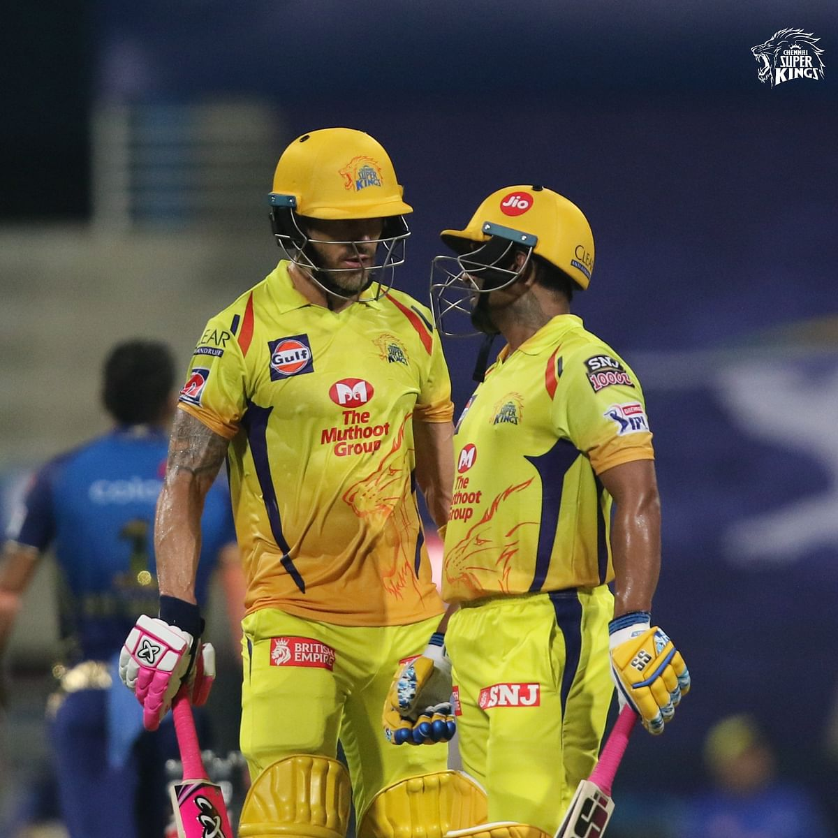 IPL 2020: Ambati Rayudu, Faf du Plessis star in CSK's 5-wicket victory over MI
