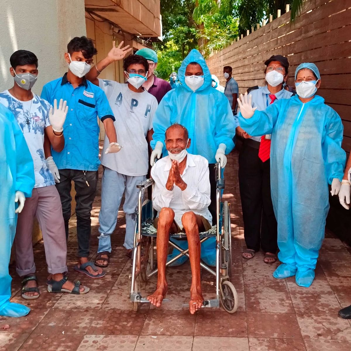 Coronavirus in Mumbai: 97-year-old man from Nalasopara recovers from COVID-19