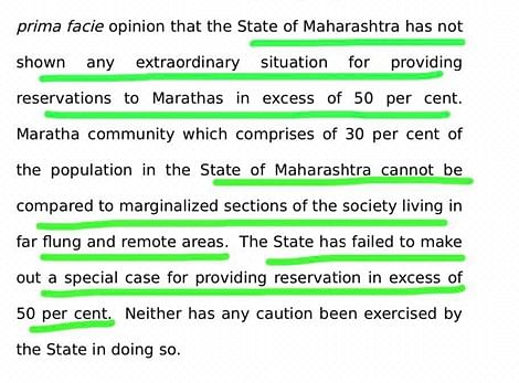 Why it is gravely unfair to blame Devendra Fadnavis for MVA botching up Maratha reservation