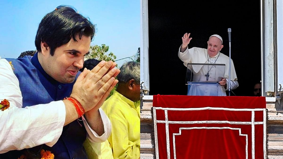 BJP leader Varun Gandhi trolls Pope Francis for comparing COVID-19 with gossiping
