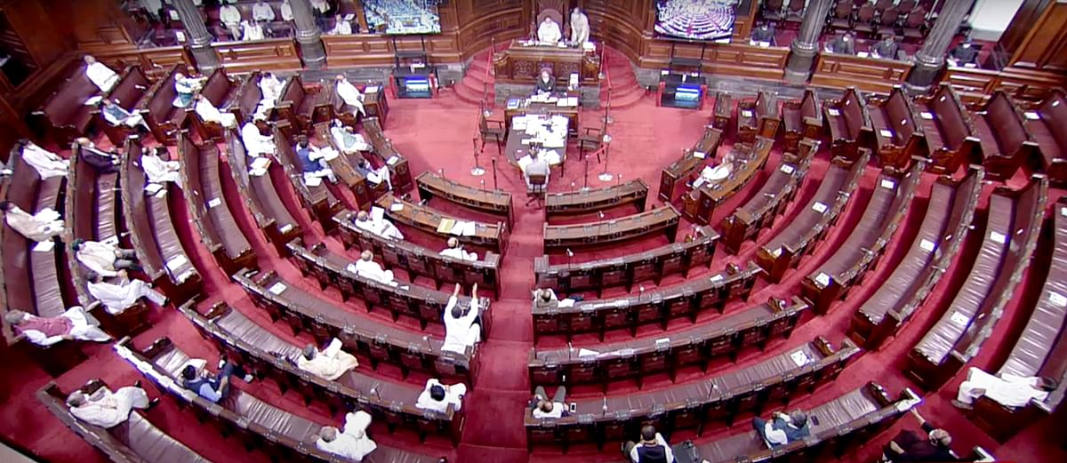 As Rajya Sabha TV footage puts Dy Chairman on spot, Congress MPs say Oppn's democratic rights 'curtailed' with voice votes