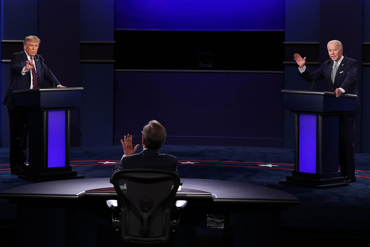 US Presidential debate spirals out of control