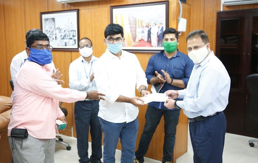 NTPC-Ramagundam distributes Utkarsh Merit Scholarship to 156 Students