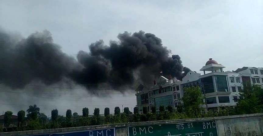 Fire breaks out in IPS School