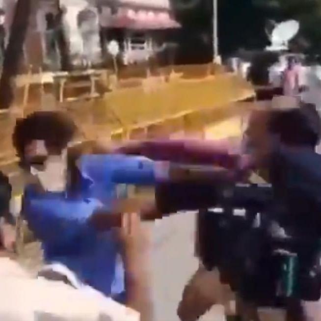 Mumbai Fight Club: Reporters clash outside NCB, Republic's Pradeep Bhandari blames 'NDTV, ABP' goons