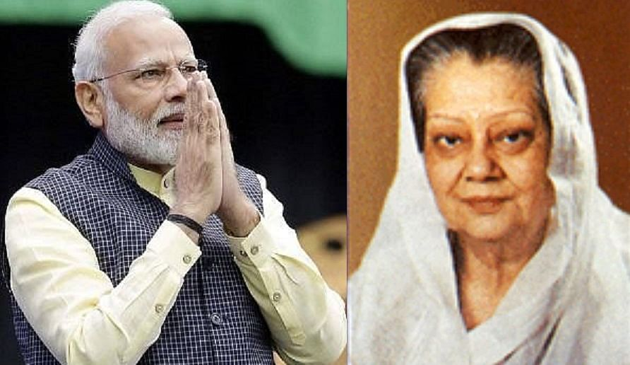 Mann Ki Baat: PM Modi pays tribute to Rajmata Vijayaraje Scindia; shares anecdote from early 1990s