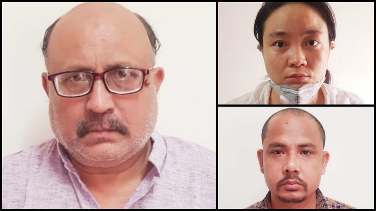 Freelance journalist Rajeev Sharma (pic 1) arrested under Official Secrets Act for passing sensitive information to Chinese intelligence. A Chinese woman & her Nepalese associate also arrested for paying him large amounts of money routed through shell companies: Delhi Police