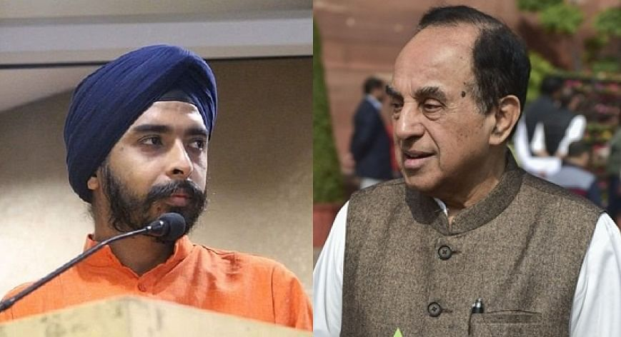'Can you be ever loyal to a person or a cause?': Tajinder Bagga slams Subramanian Swamy after comments on Malviya