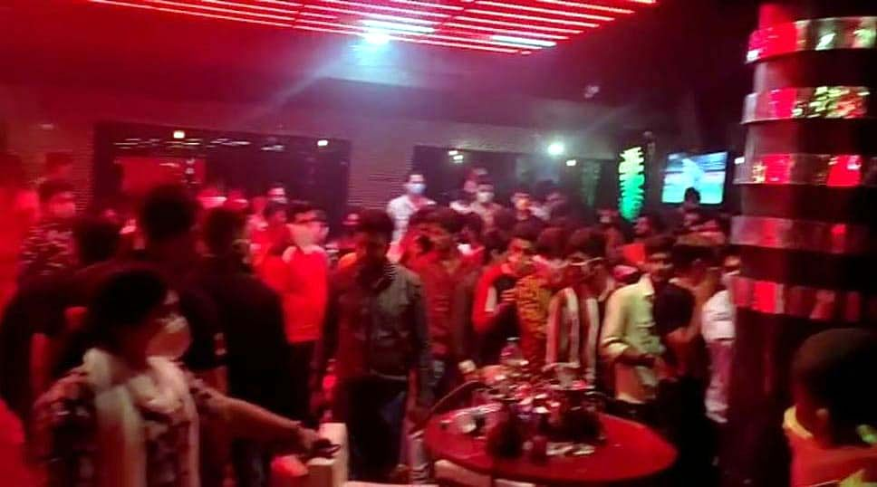 Police raid at K2 Club