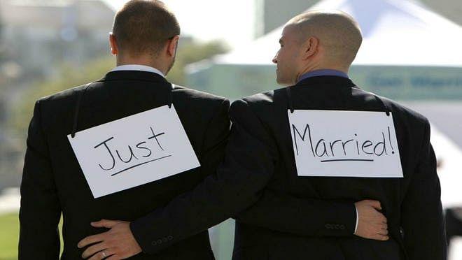 No wedding vows for Adam & Steve