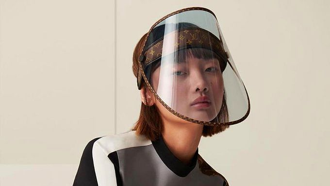 'What stage of capitalism is this?': Twitter reacts to Louis Vuitton's nearly $1K luxury face shield