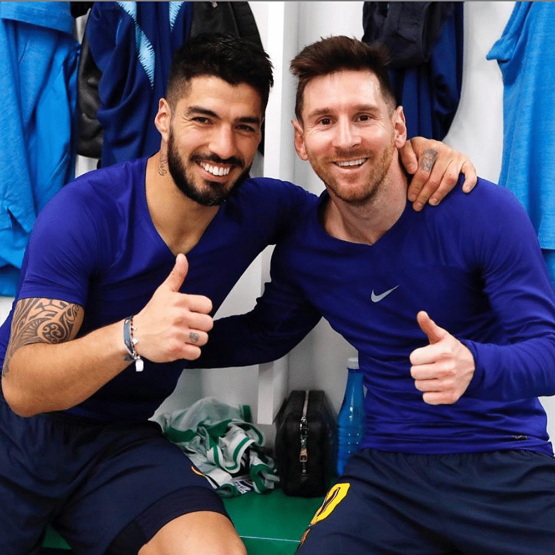 'You did not deserve this': Lionel Messi on Barcelona 'throwing out' Luis Suarez