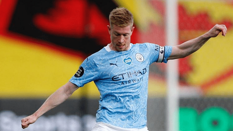 Manchester City's Kevin De Bruyne wins PFA Player of the Year award
