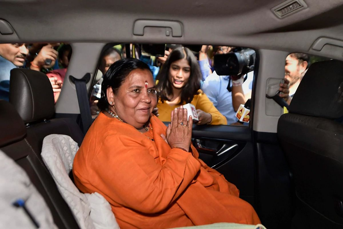 Veteran BJP leader Uma Bharti tests positive for coronavirus
