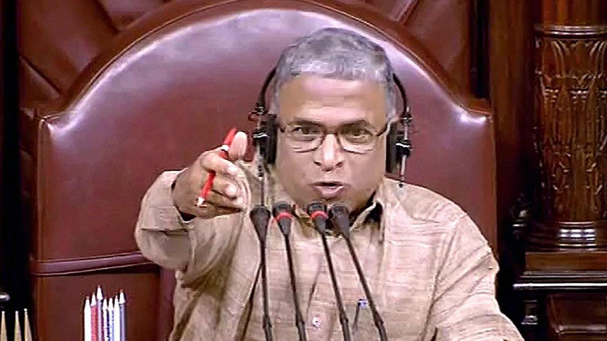 JD(U) MP Harivansh files nomination as NDA candidate to RS deputy chairman post