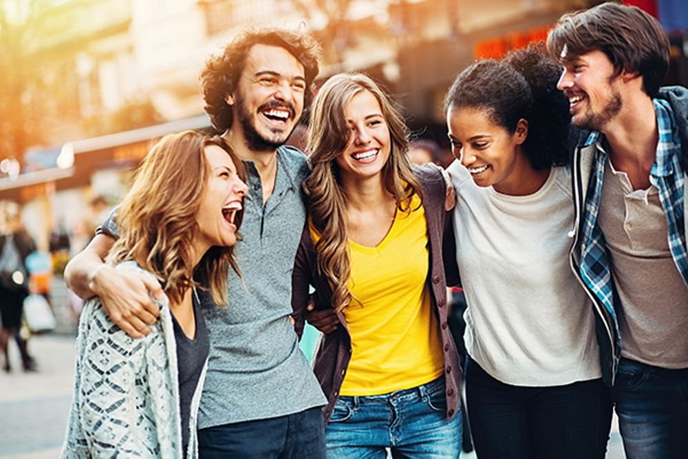 Friends, not family key to human happiness, finds study