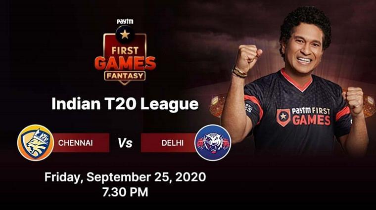 Delhi vs Chennai: Paytm First Games Fantasy Prediction: Indian T20 League