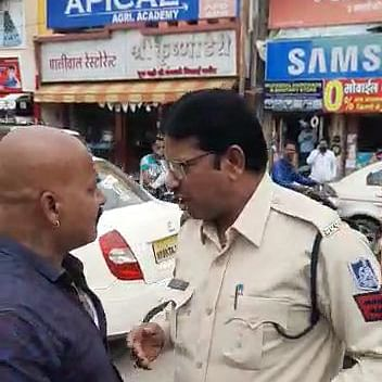 Indore: IMC staffer & cop in verbal spat over not wearing mask