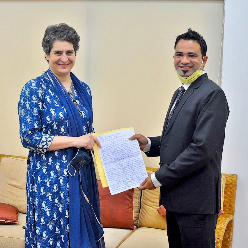 Days after his release, Priyanka Gandhi Vadra meets Dr Kafeel Khan