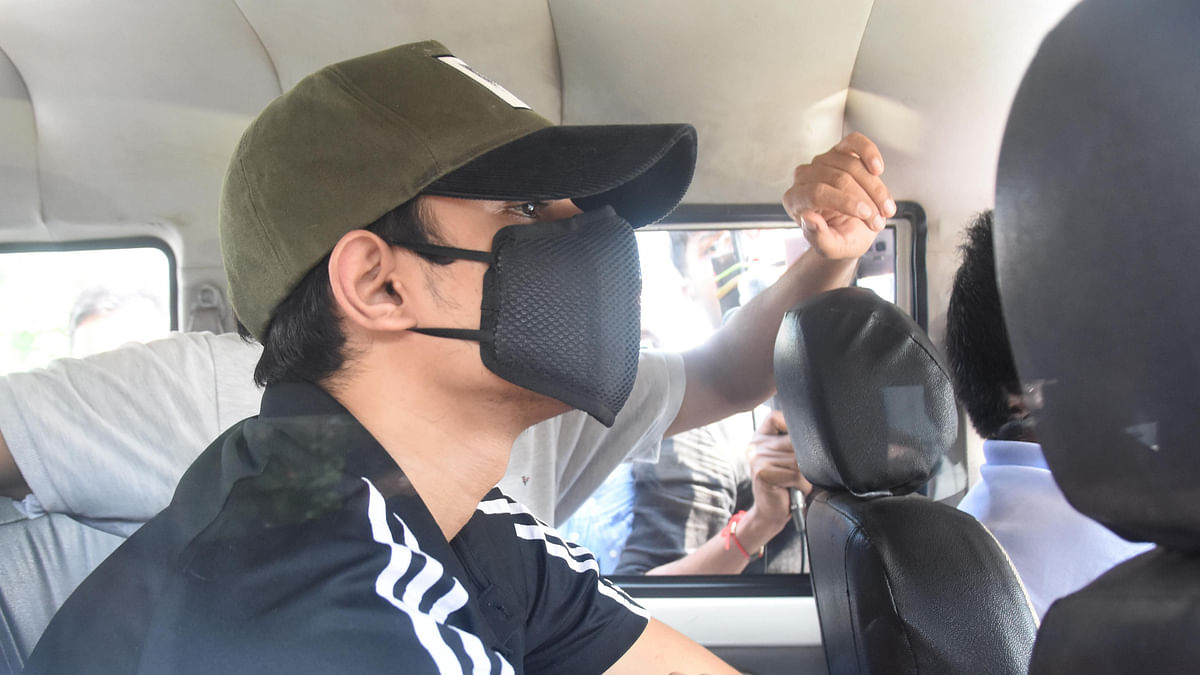 Narcotic footprints: Rhea's brother Showik Chakraborty held