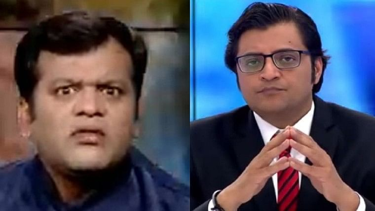 'Puchta hai Bharat': Marathi news anchor channels inner Arnab Goswami after reporters clash outside NCB