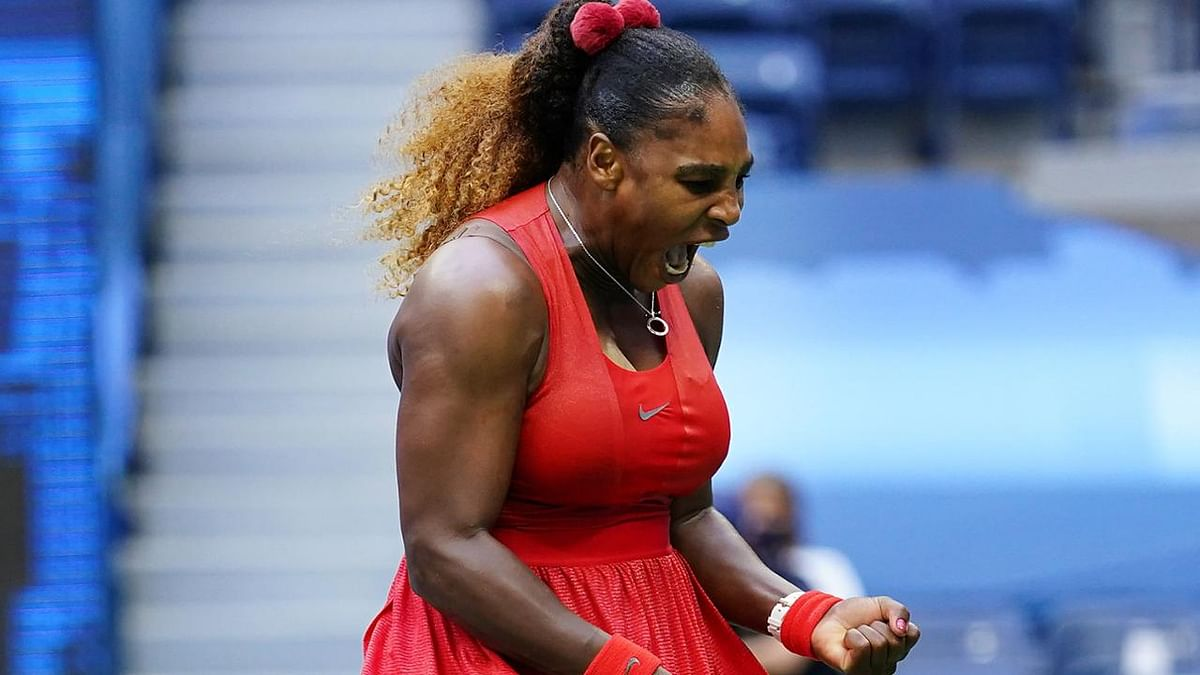 US Open: Serena Williams beats Kristie Ahn in first-round match