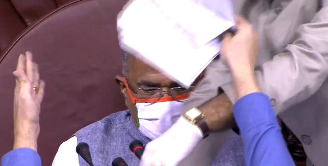 Rajya Sabha: Rules go for a toss
