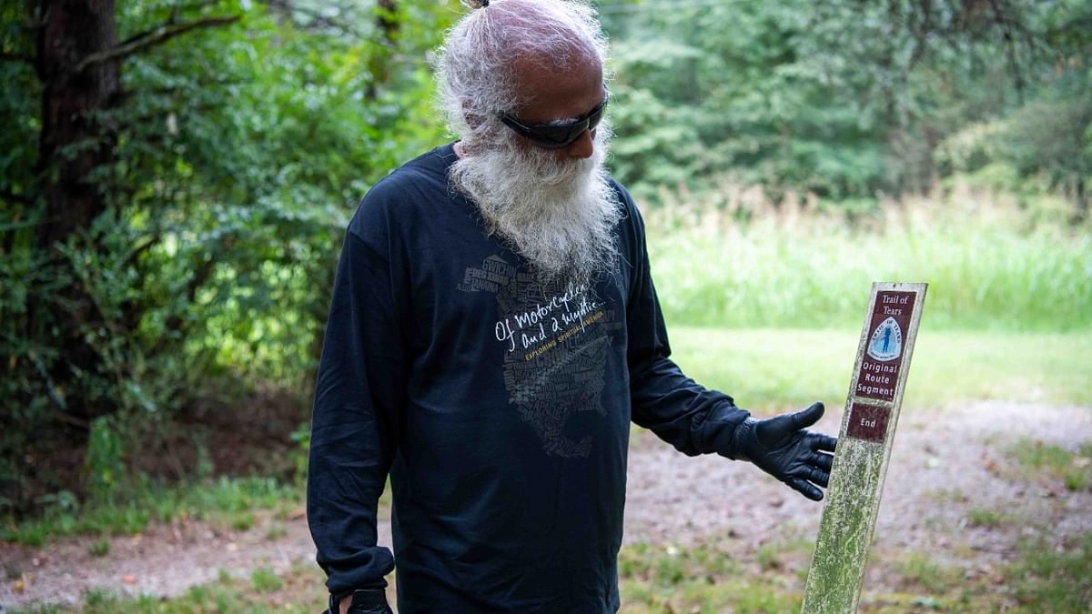 Sadhguru kicks off mystical road journey through United States