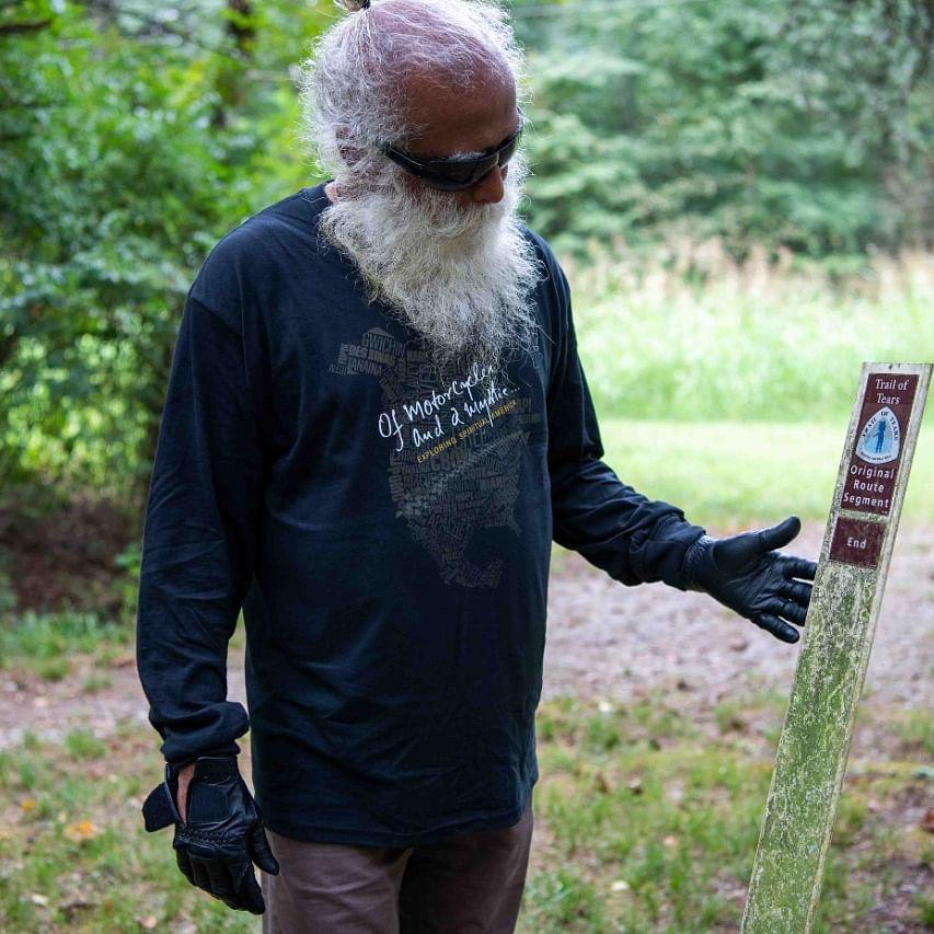 Sadhguru kicks off mystical road journey through United States