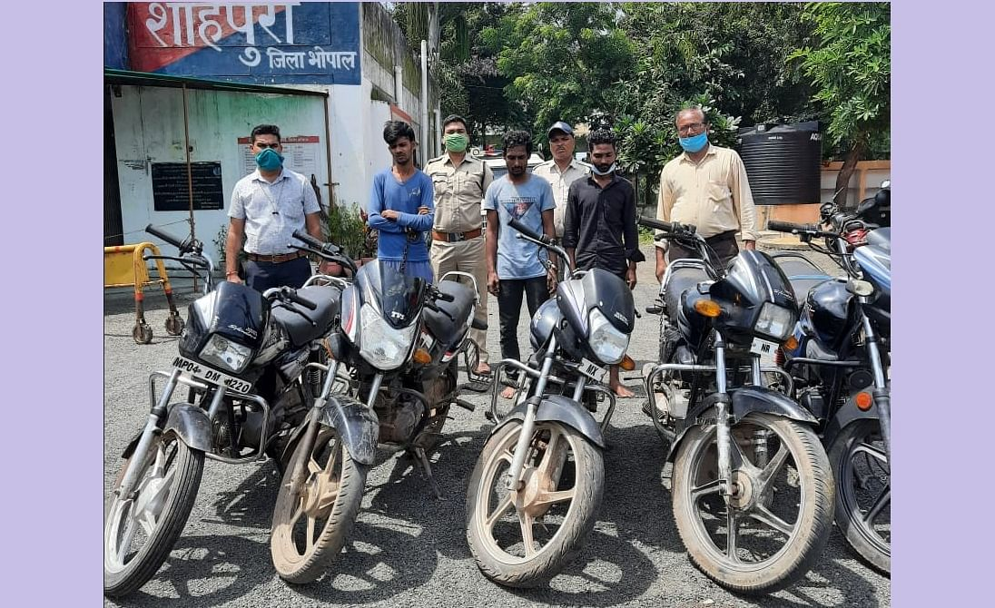 Bhopal: VDP comes handy, 26 stolen vehicles recovered in 20 days
