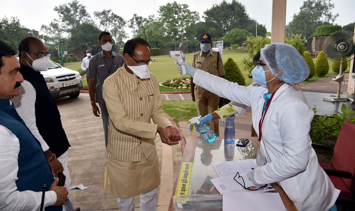Bhopal: Corona recovery rate increased to 77.30%, says CM Shivraj in Assembly