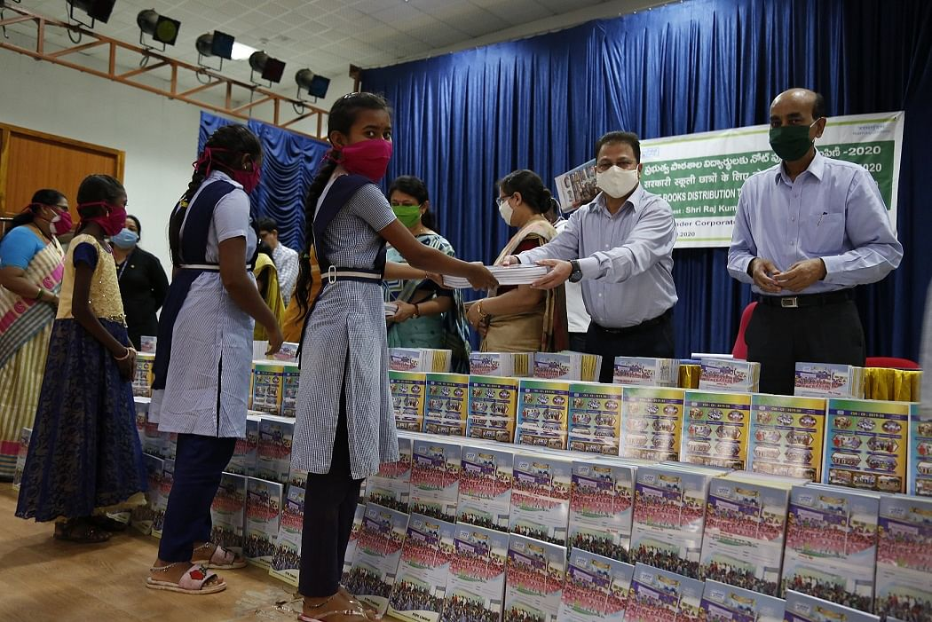 NTPC distributes notebooks to over 12500 students