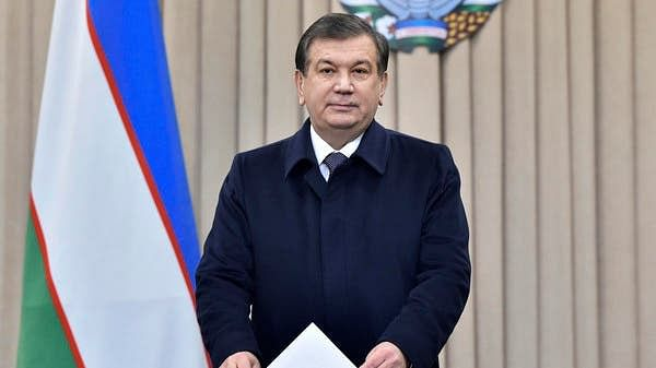 Uzbekistan President Shavkat Mirziyoyev