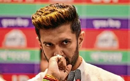 Can't campaign now: Chirag Paswan