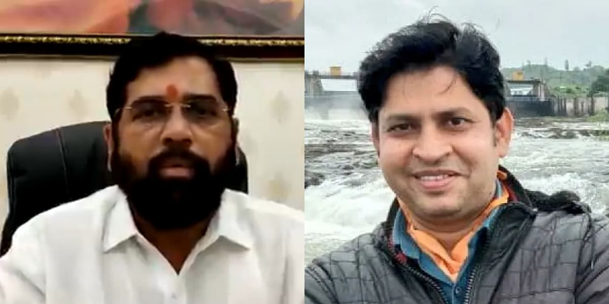 Eknath Shinde extends help to kin of TV 9 journalist who died due to COVID-19 in Pune