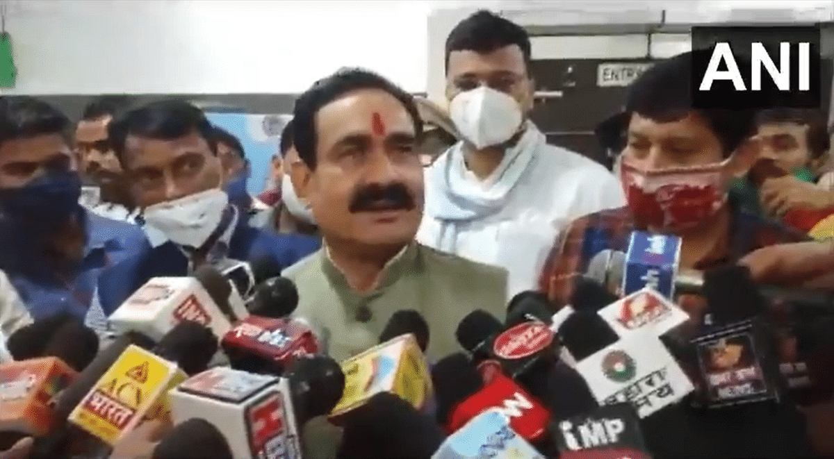 After facing heat for not wearing mask, MP Home Minister Narottam Mishra says he will now mend his ways