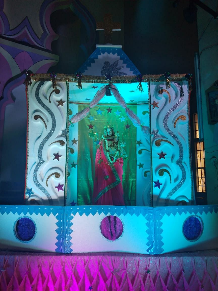 Amid pandemic, Indore church holds Novena celebrations with live telecast and virtual participation