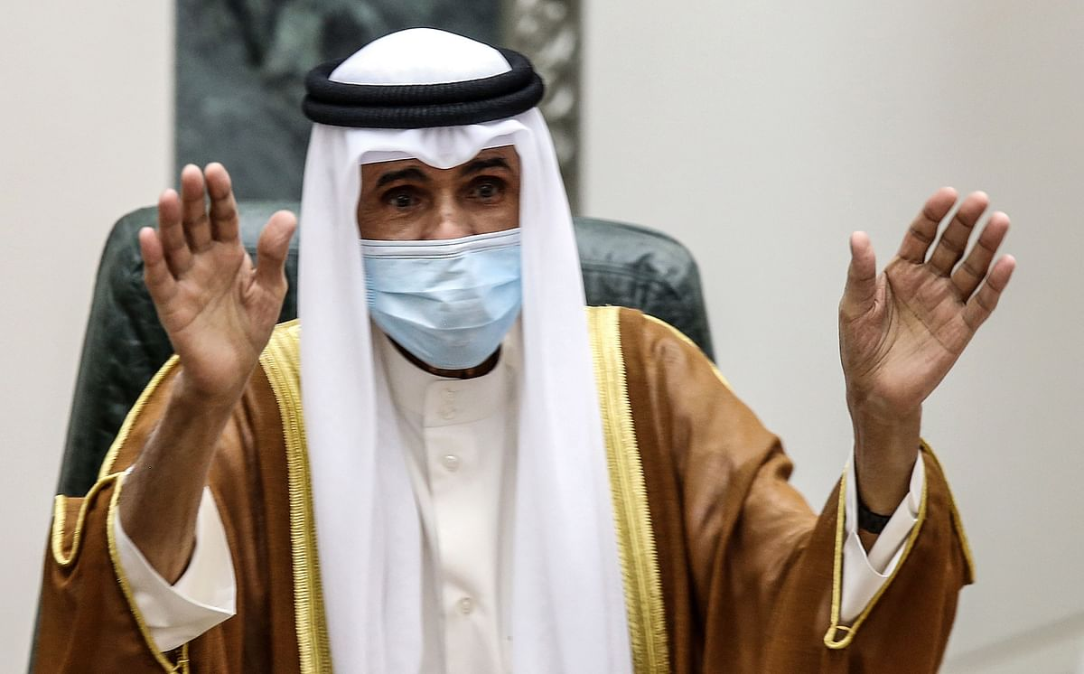 Kuwait's new emir swears in