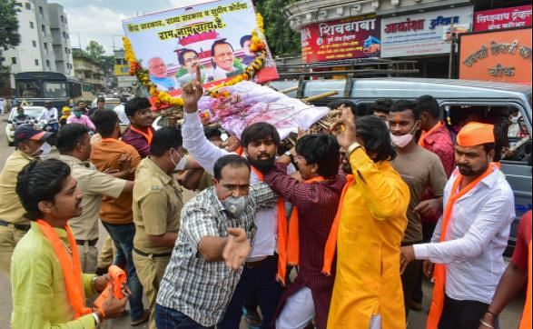 Maratha quota: Protests in Solapur, Kolhapur after SC stay