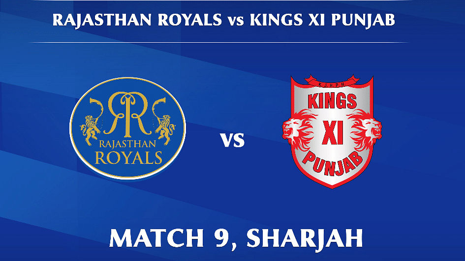Rajasthan Royals vs Kings XI Punjab LIVE: Score, Commentary for the 9th match of IPL 2020