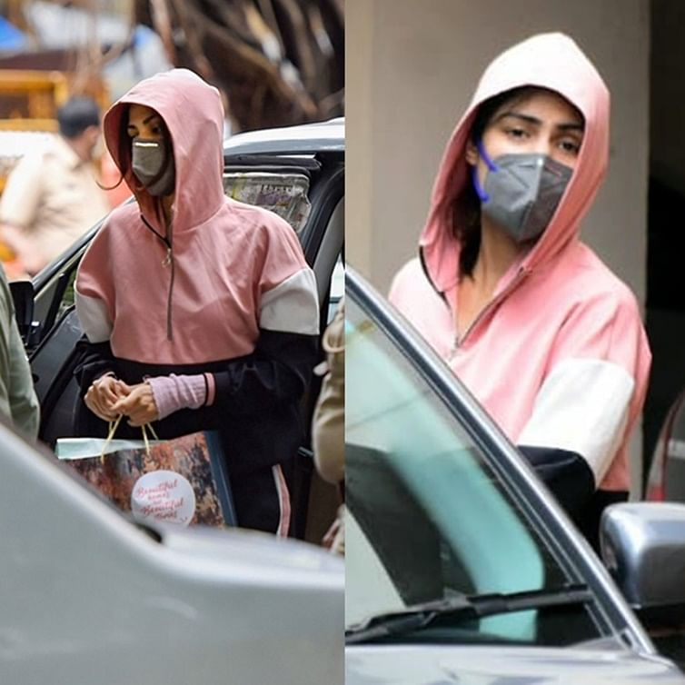 Which gold-digger shops from Zara? Rhea's pink tracksuit worth Rs 5,700 shows consistency in her claims