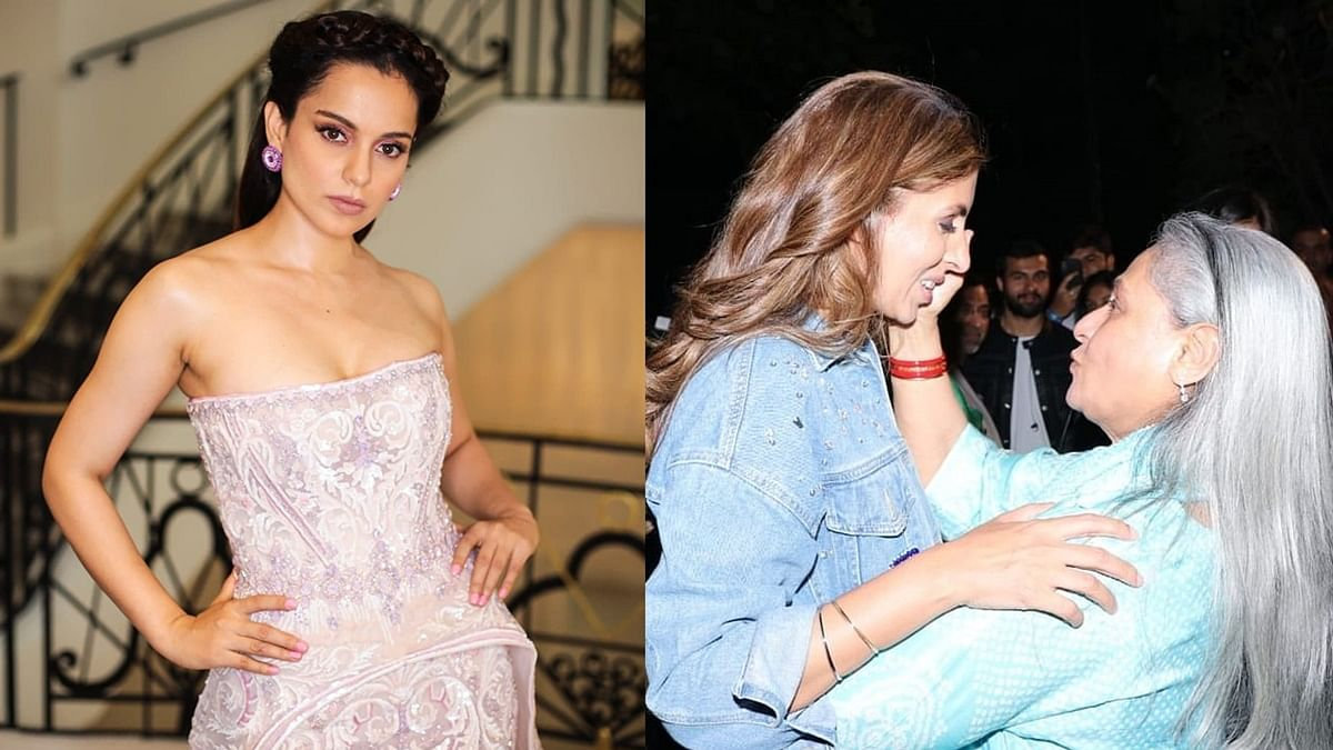 'Would you say the same if Shweta was beaten, drugged, molested': Kangana slams Jaya for 'gutter' comment