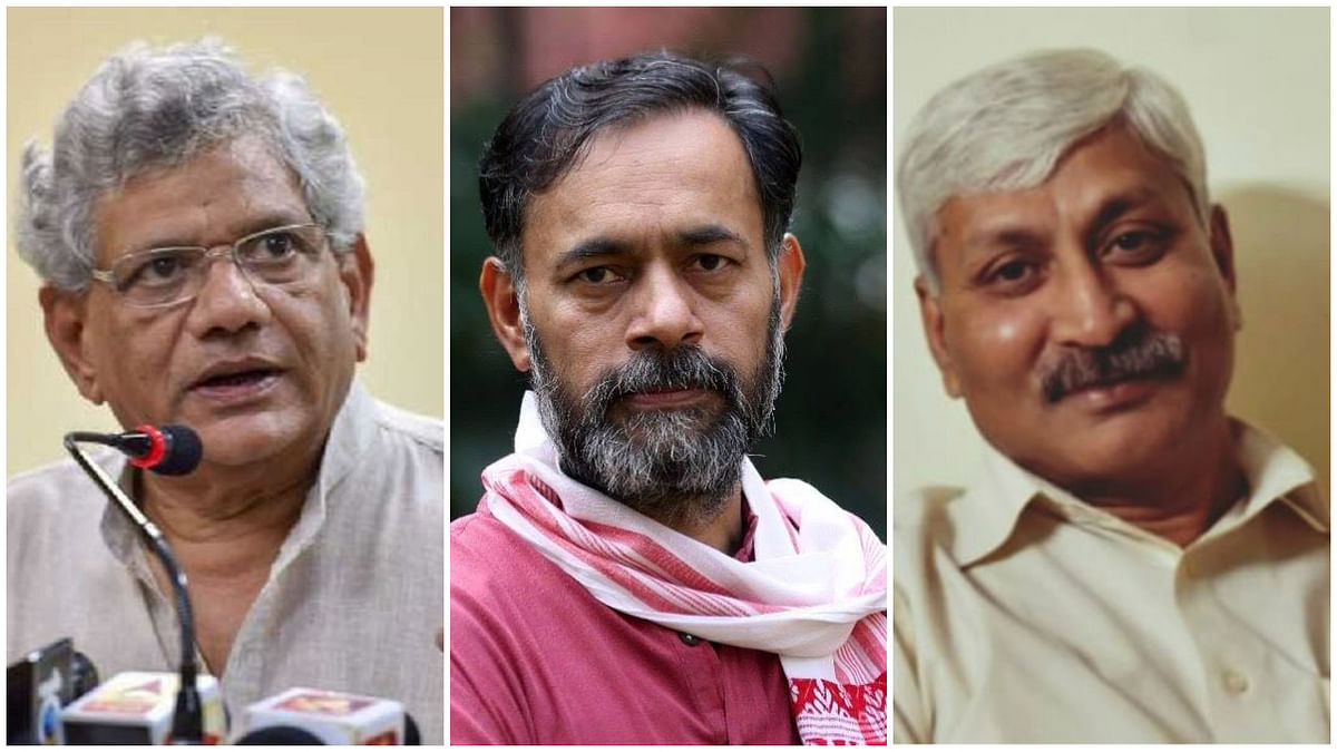 Yechury, Yadav, Apoorvanand in Delhi riots charge sheet: Here is how they responded