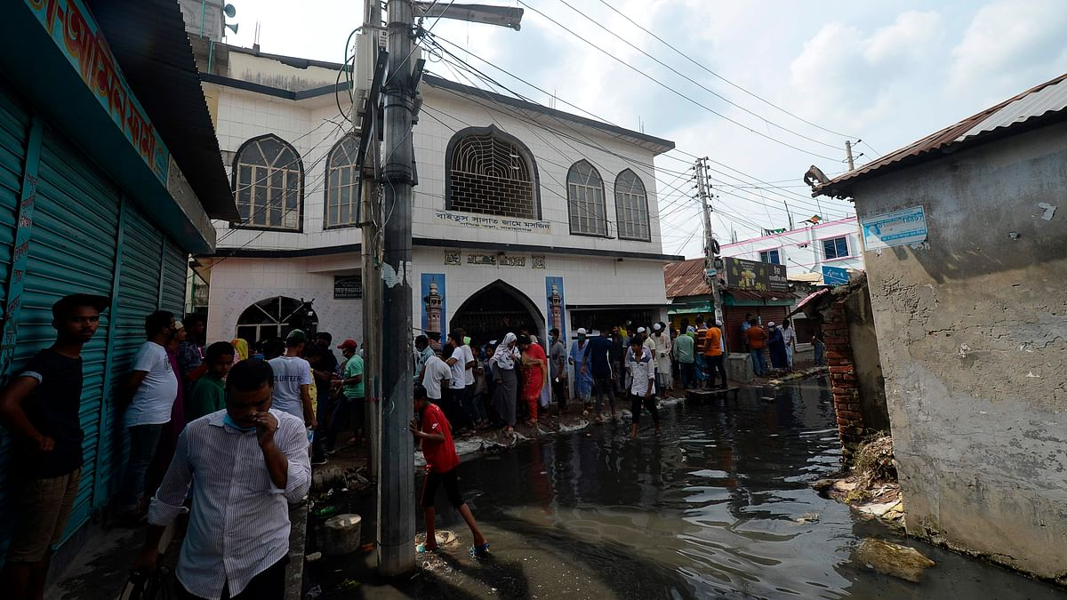 21 killed as air conditioners explode in Bangladesh mosque