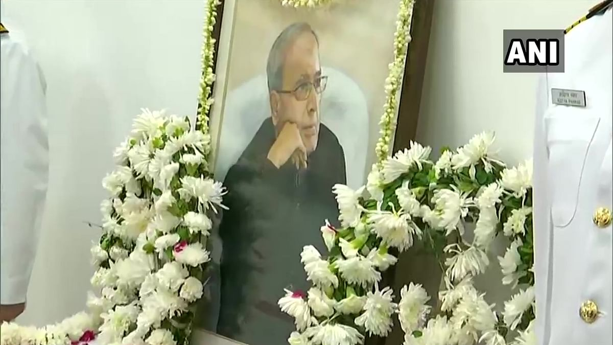 Live updates from 10 Rajaji Marg: PM Modi and others pay respects to Pranab Mukherjee