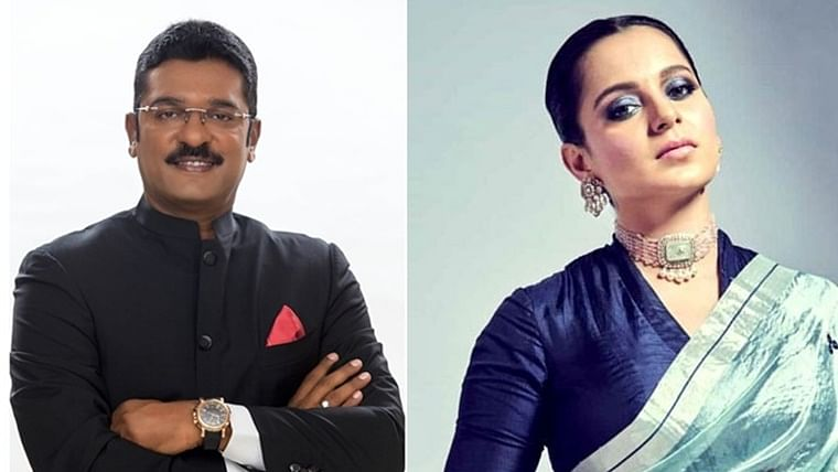 Shiv Sena MLA from Thane threatens to break Kangana's mouth, asks Anil Deshmukh to file sedition case