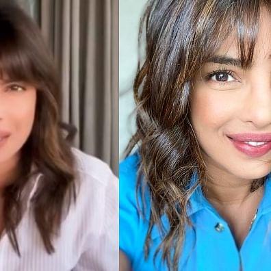 Priyanka Chopra flaunts her new post-quarantine haircut, shares adorable selfie