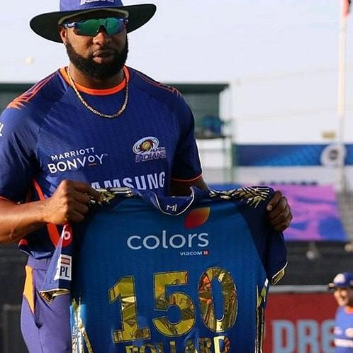 IPL 2020: Kieron Pollard marks 150 appearances for Mumbai Indians