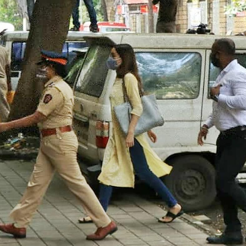 Shraddha Kapoor reaches NCB office to join investigation of drug case related to Sushant's death