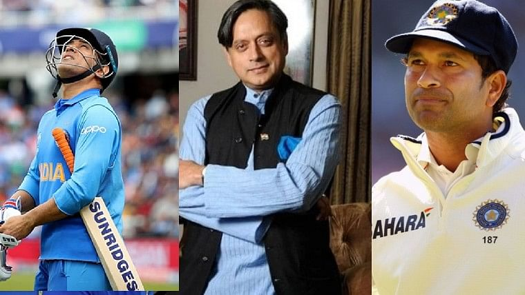 Why was Shashi Tharoor 'extremely upset' with Sachin Tendulkar and MS Dhoni?